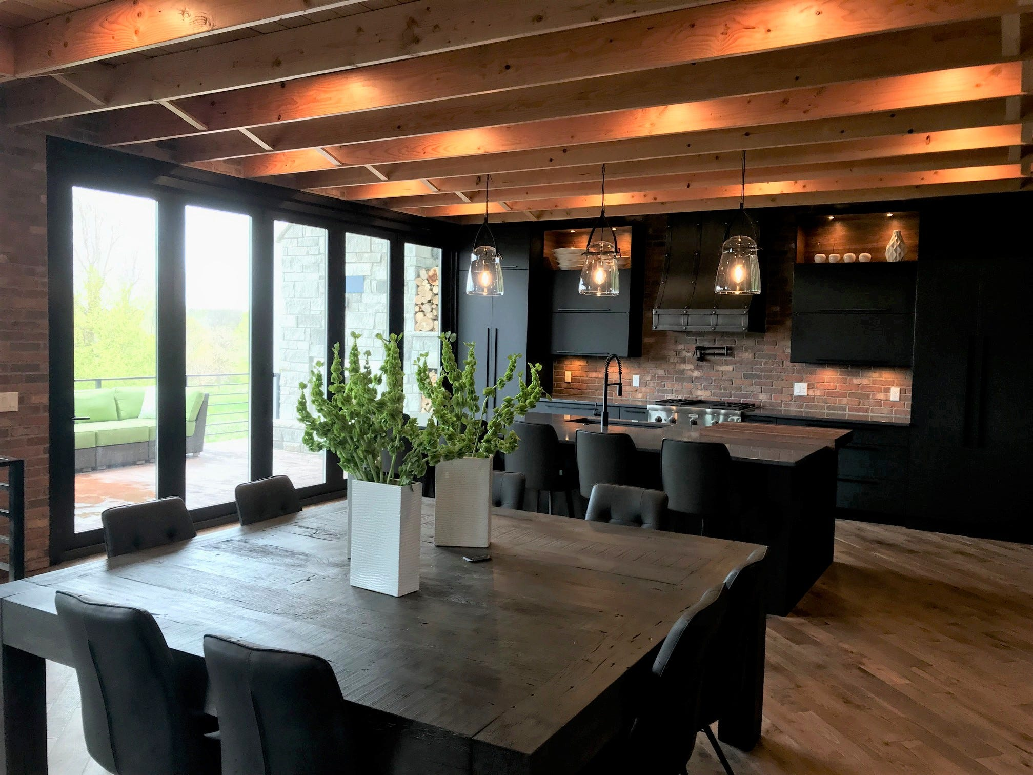 This 6,415-square-foot home at 909 S. Torrey Pine Lane is a feature home (No. 19) on the Sioux Empire Home Builder  Association's 2019 Spring Parade of Homes. The 5-bed, 4 bath homewas built by Trademark Homes Inc.