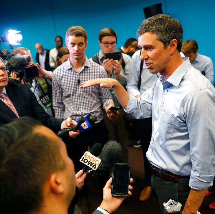 A man who boosted Barack Obama's Democratic primary success is now working for Beto O'Rourke