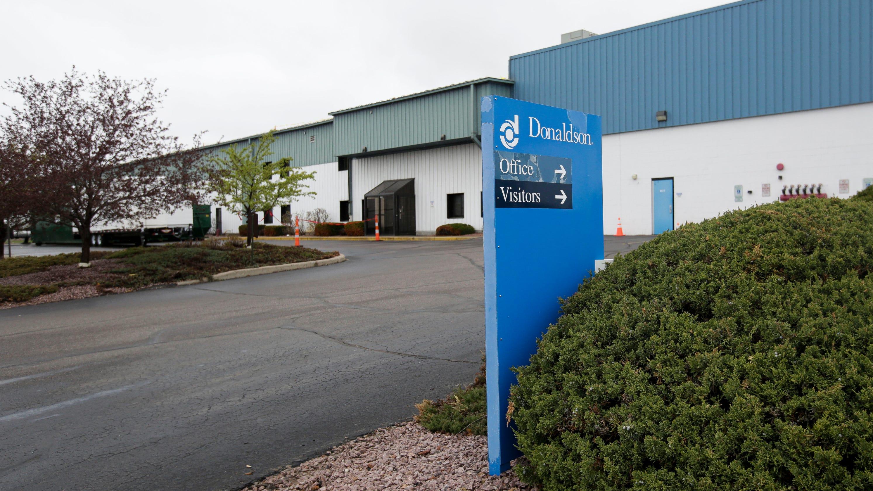 Stevens Point: Donaldson Co  confirms layoffs, plans more cuts