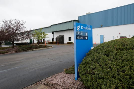 The Donaldson Company announced a second round of layoffs June 19, 2020. The company is laying off 56 workers in Stevens Point this week, with further cuts to come over the next two years. Tork Mason/USA TODAY NETWORK-Wisconsin