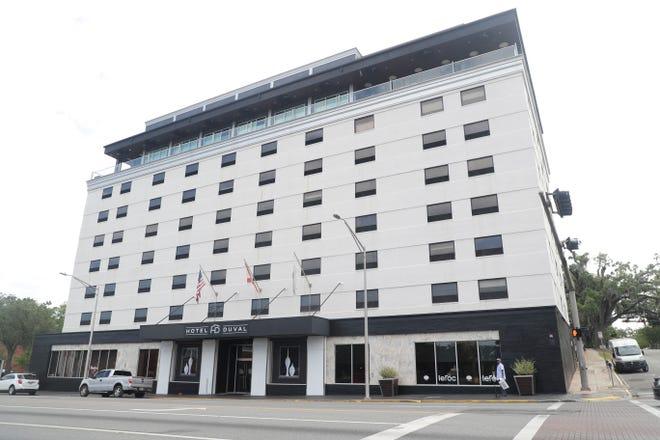 Hotel Duval Building Exterior Thursday, May 9, 2019