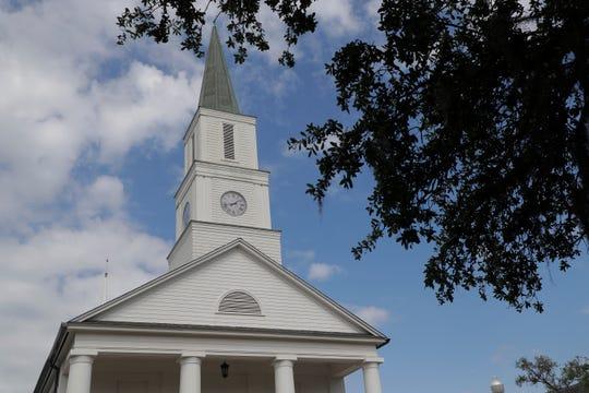 First Presbyterian Church Building Exterior Thursday, May 9, 2019