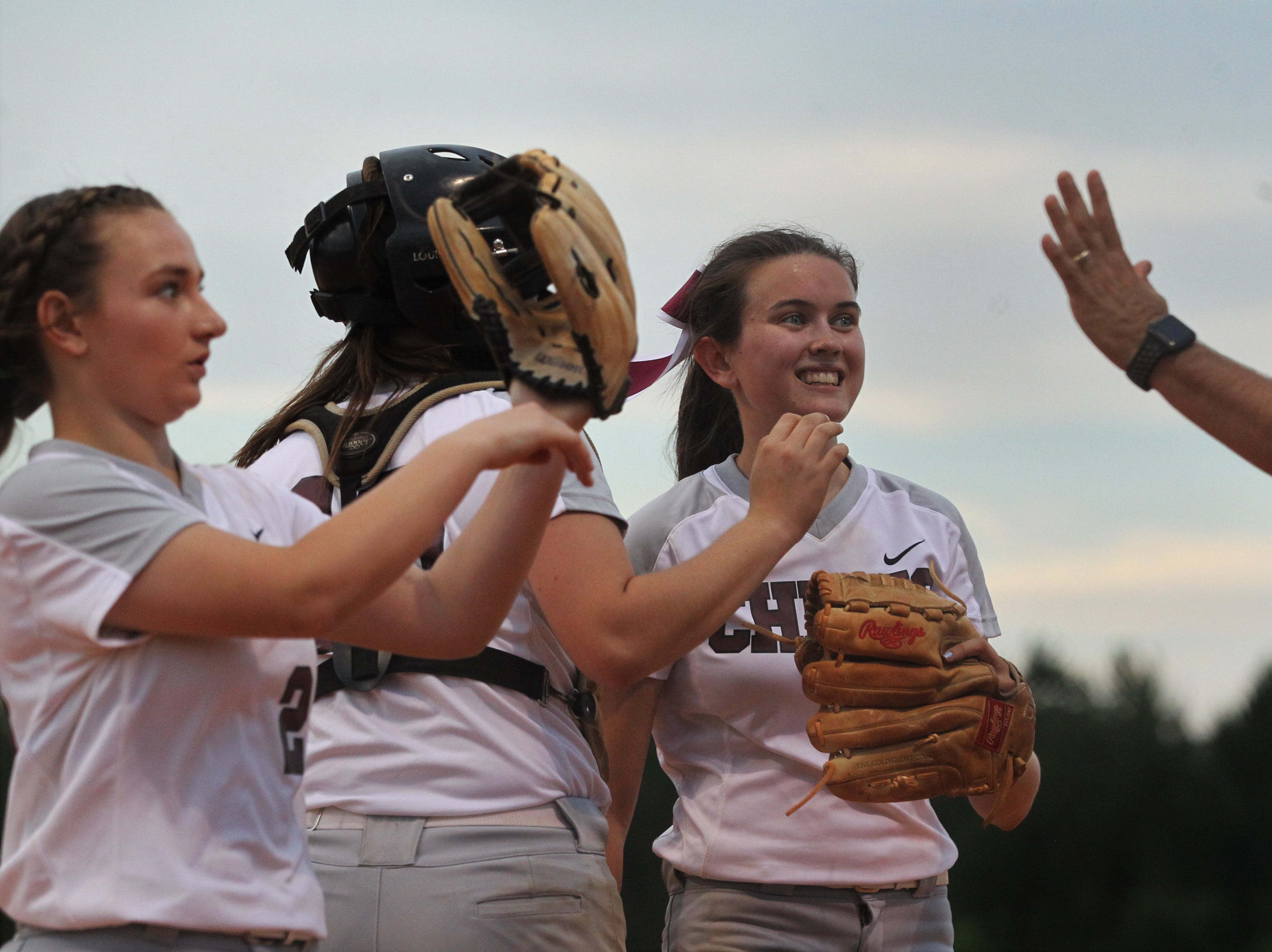 Chiles beat Atlantic Coast 6-4 during a Region 1-8A quarterfinal softball game on Wednesday, May 8, 2019.