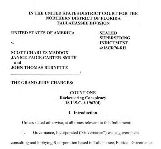 J.T. Burnette indictment