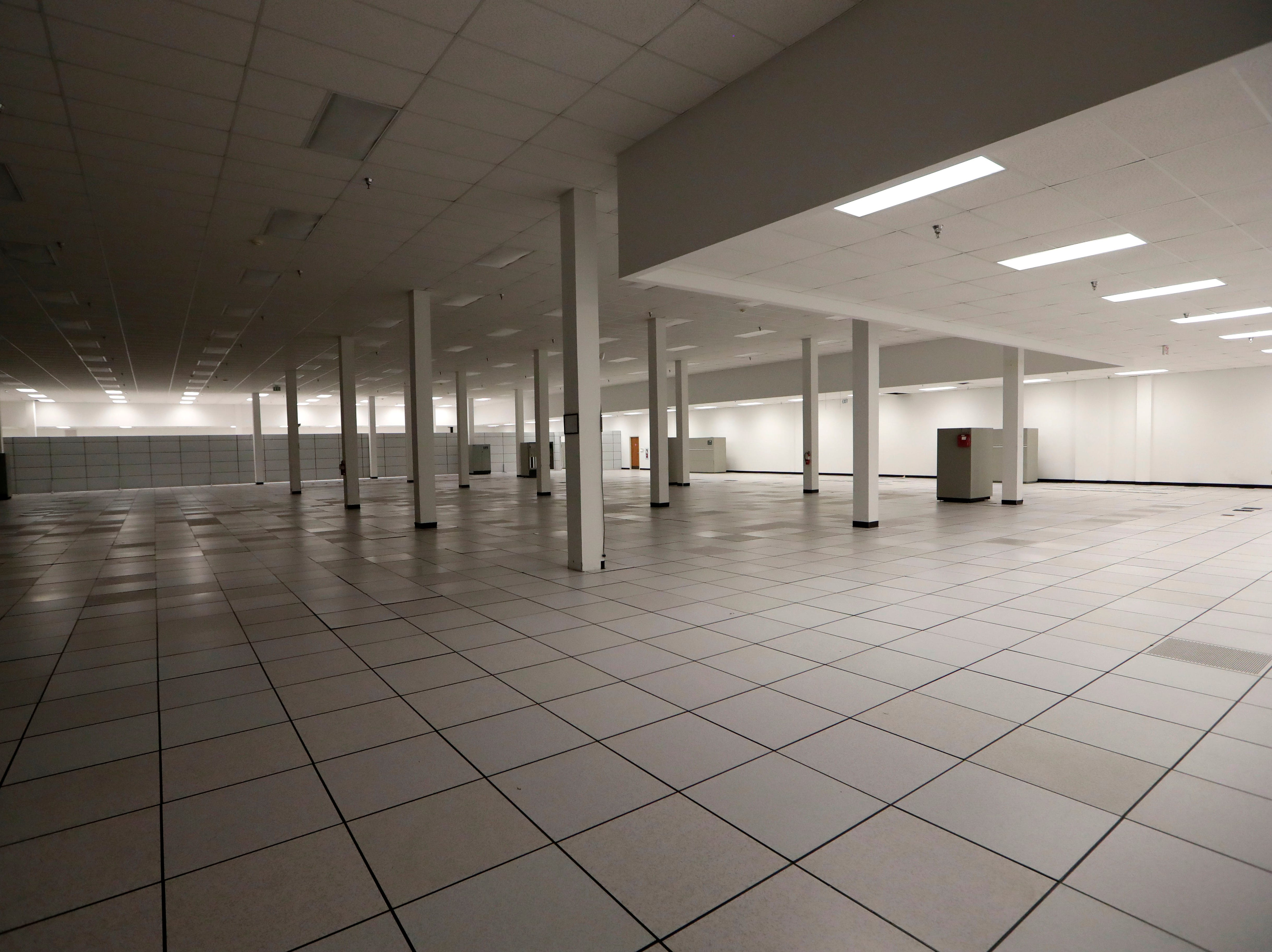 A massive, vacant office space in the Northwood Centre Wednesday, May 8, 2019.