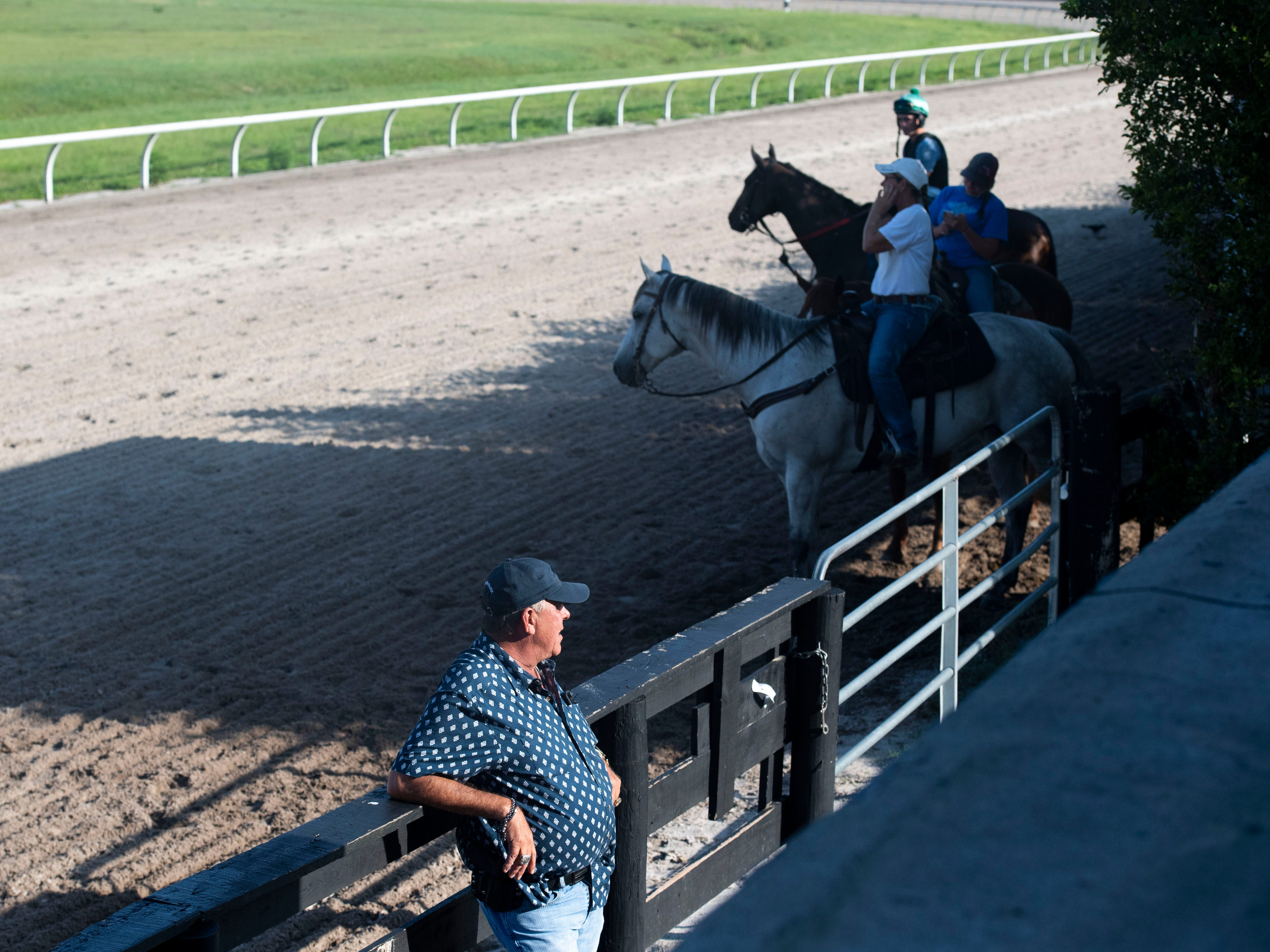 """We keep it elite. We keep it high end. The track is always good, the turf is always good,"" said Larry Kelly, Payson Park general manager, about the thoroughbred training facility in Indiantown. About 500 horses get trained on the property throughout the winter months, and this year's group included Country House, Code of Honor and Tacitus, the top three finishers of the 145th Kentucky Derby."