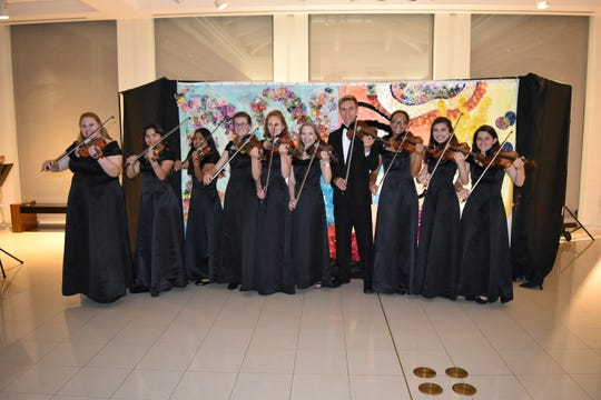 Vero Beach High School Orchestra performs at the 2019 Gala for The Learning Alliance at the Vero Beach Museum of Art.