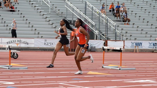 UTEP's Kimisha Chambers is a favorite in the 400-meter hurdles this week at the Conference USA championships