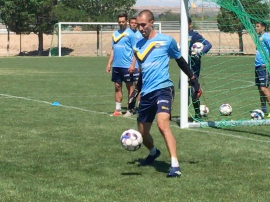 El Paso keeper Logan Ketterer is second in the USL in clean sheets (shutouts) with five.