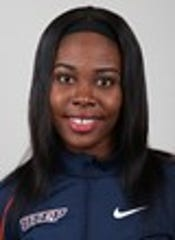 UTEP's Kimisha Chambers is the favorite in the Conference USA 400-meter hurdles this weekend