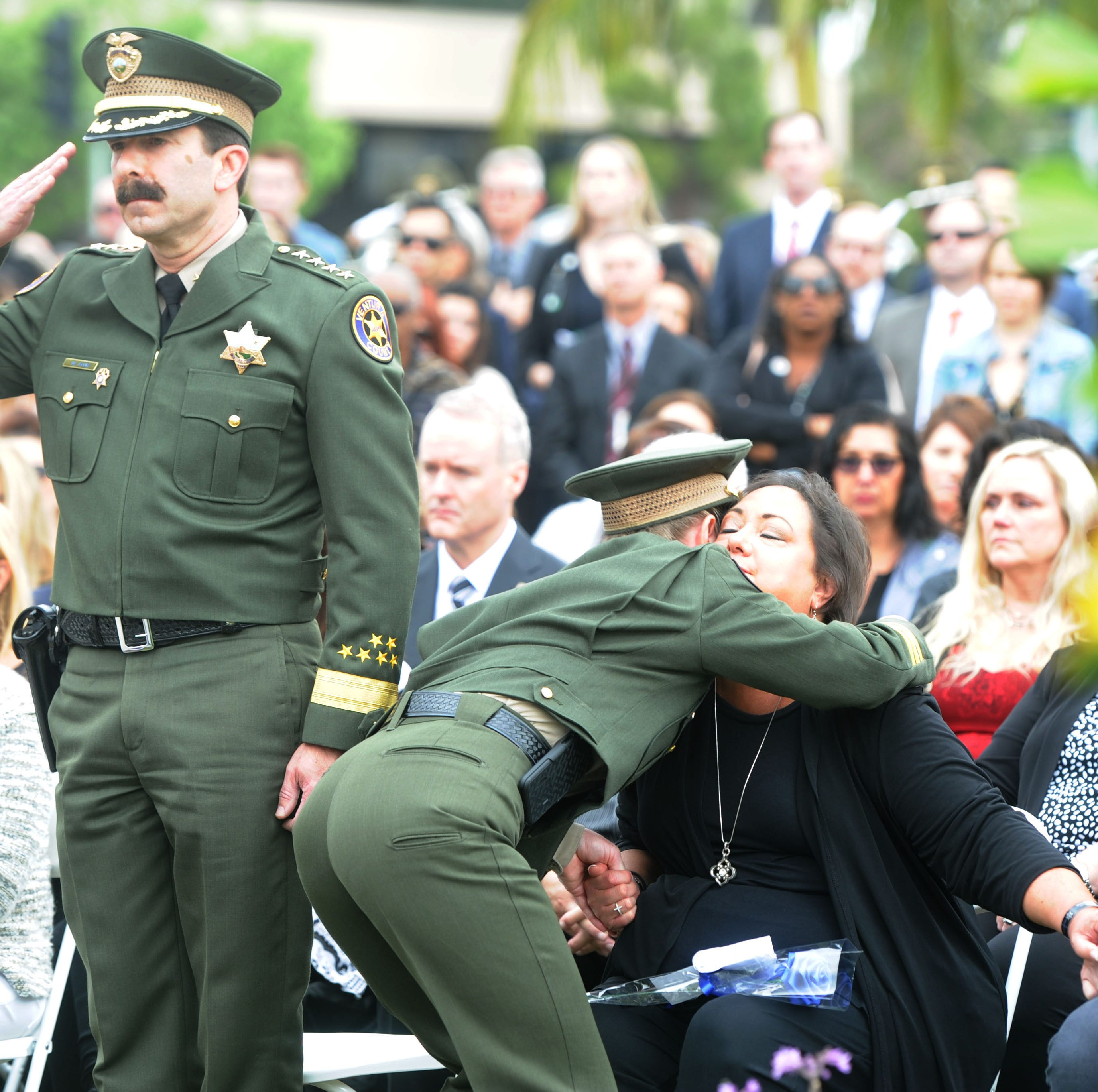 Sergeant killed in Borderline shooting, 32 others honored at annual peace officer memorial