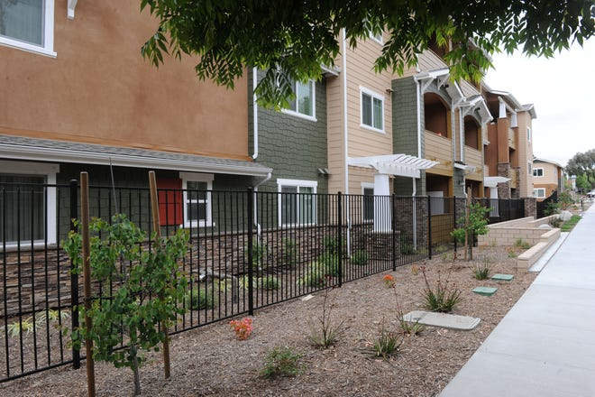 The Walnut Street Apartments in Moorpark are one of the more recent properties the Ventura County Housing Trust Fund has helped complete. The trust fund, which helps get affordable housing built in the county, is working to win a $10 million matching grant from the state.