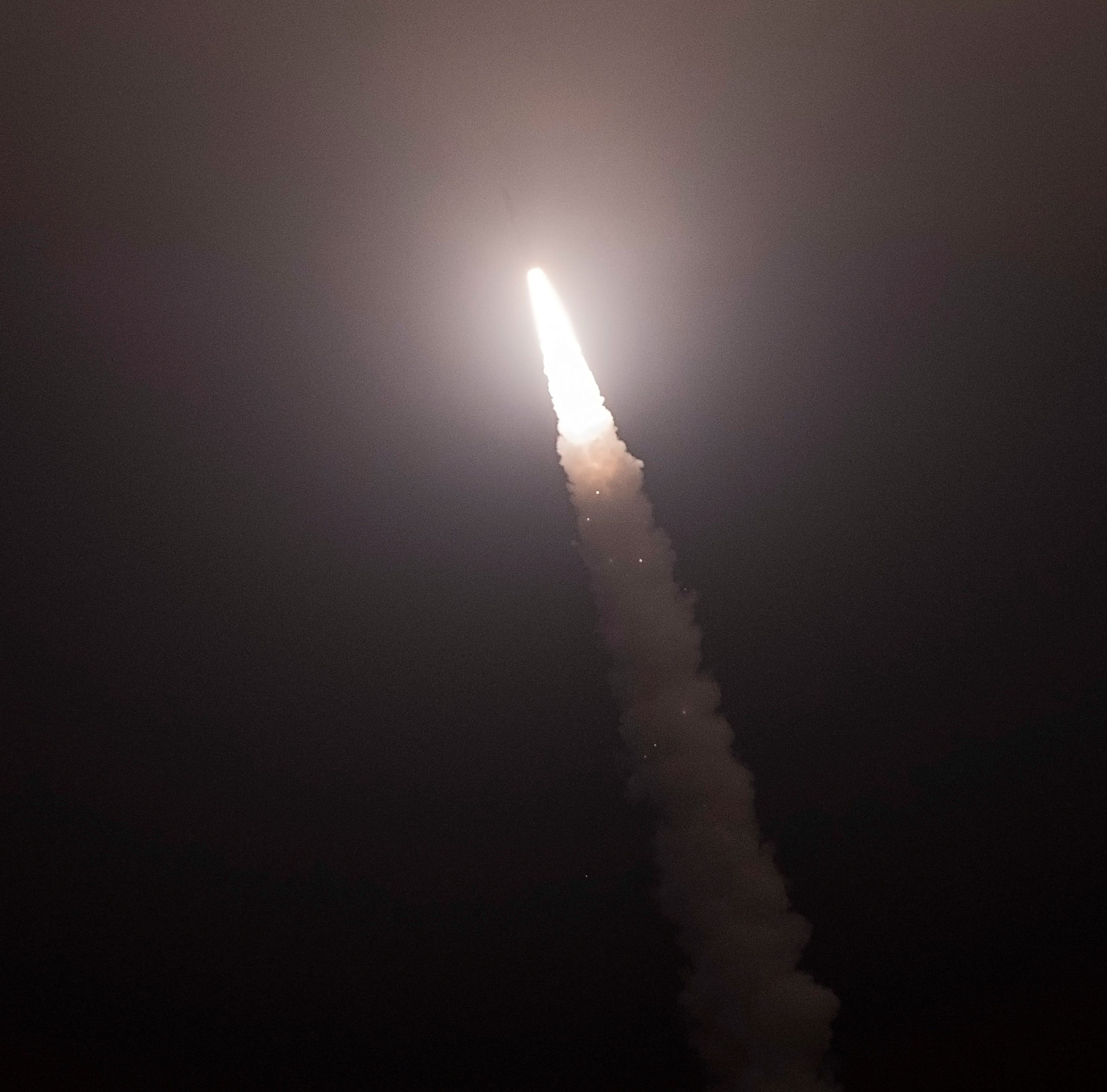 Unarmed missile launched in test from Vandenberg Air Force Base
