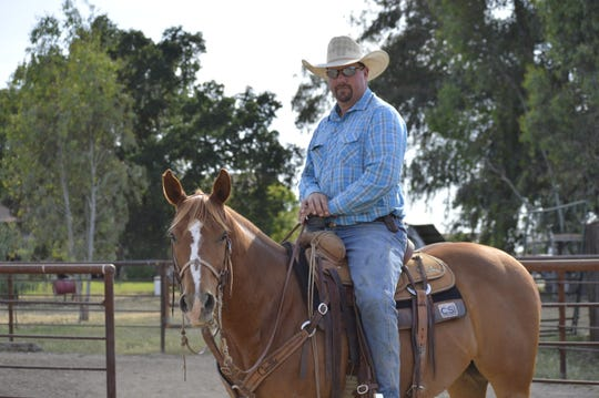 Visalia resident Kyle Lockett is atop the 2019 PRCA Ram World Standings for team roping (heelers). Lockett is competing at the Woodlake Lions Rodeo this weekend.
