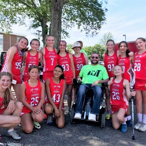 Fox Lane hasn't forgotten Tony Ciccone, who was paralyzed on the lacrosse field