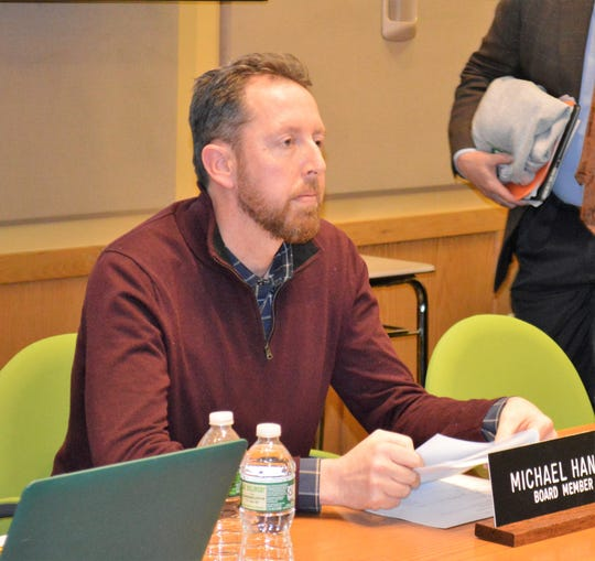 Irvington School Board President Michael Hanna declined to say whether the school board would hold accountable Irvington administrators who approved Lubinsky's travels.