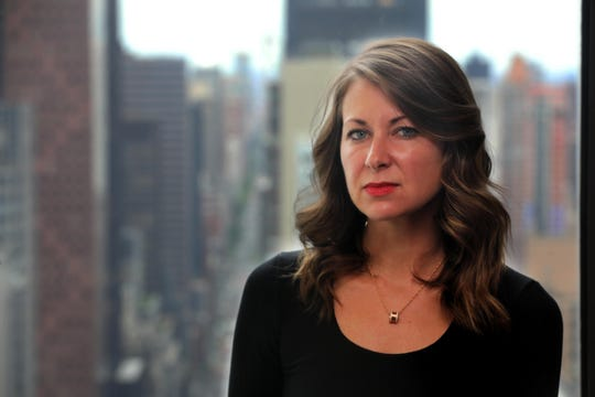 Melissa DeRosa, 36, a top aide to New York State Governor Andrew Cuomo, holds the title of secretary to the governor, which is most powerful unelected position in state government. She was photographed at the governor's Manhattan offices March 9, 2019.