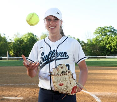 Suffern's Samantha Kaner is selected as the Rockland Scholar-Athlete of the week.  Kaner was photographed at Suffern High School in Suffern on Wednesday, May 8, 2019.