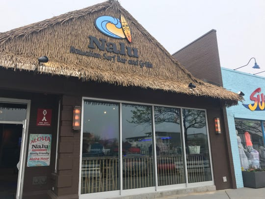 Nalu is a new Hawaiian-theme bar and grill that has opened on Rehoboth Avenue, just steps away from the Rehoboth Beach boardwalk. There's another Nalu in Dewey Beach.