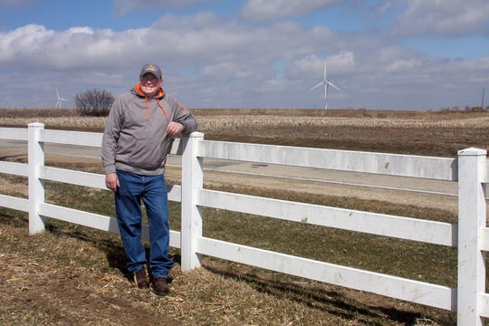 Tim McComish's support of renewable energy goes hand in hand with his stewardship to the land and his investment in energy efficiency on the farm.