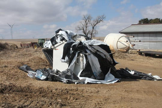 Many farmers are finding their ag recycling bins overflowing as the market to recycle plastics is dwindling.