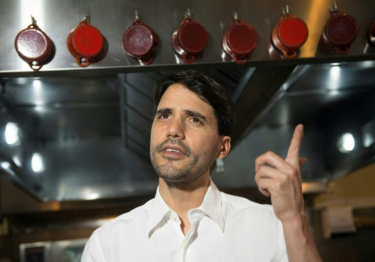 """Peruvian chef Virgilio Martinez, who was featured on the Netflix show """"Chef's Table,"""" was stopped at Los Angeles International Airport with 40 frozen piranhas in a duffel bag."""