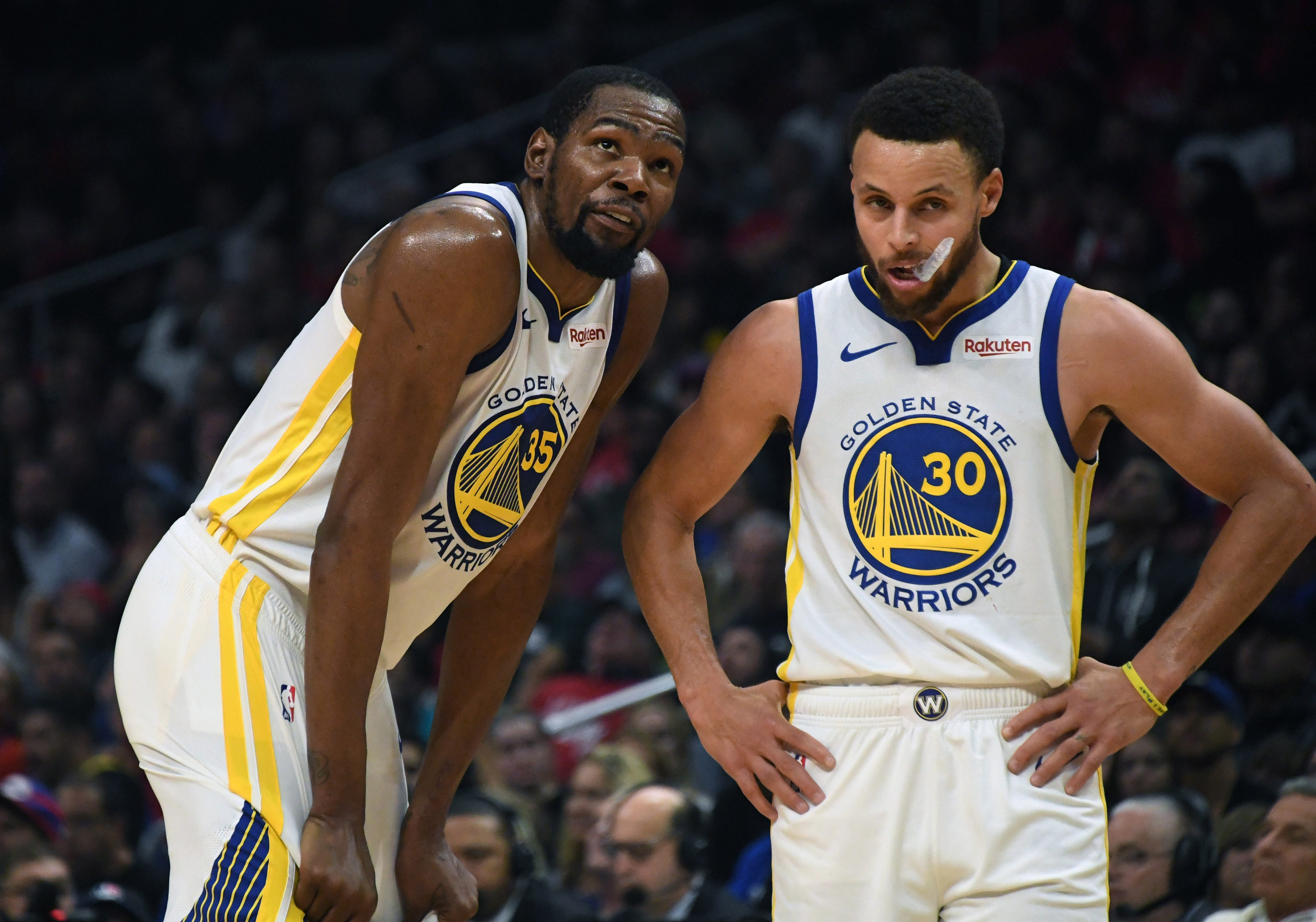 Opinion: As Kevin Durant sits, Warriors need old Stephen Curry to appear against Rockets