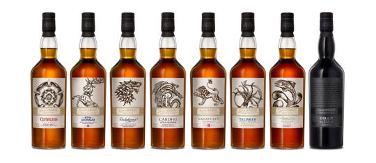 You could throw a Westeros House party with Diageo's 'Game of Thrones' Single-Malt Scotch Whisky Collection.