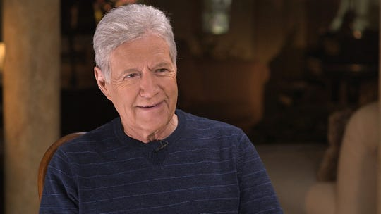 "Alex Trebek says he's ""on the mend"" after finishing chemotherapy treatments and is busy taping Season 36 of 'Jeopardy!,' which premieres Sept. 9."