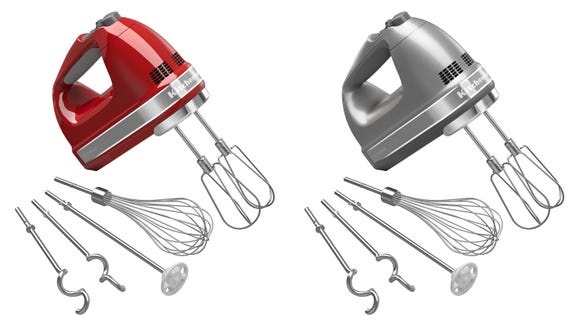 This hand mixer can make it easier to make mashed potatoes, batter, and more.