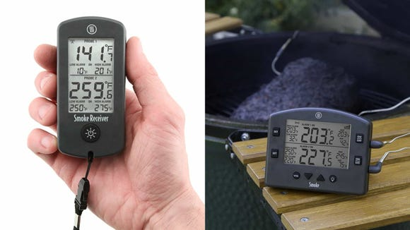 Make grilling even better with this ThermoWorks temperature tracker.
