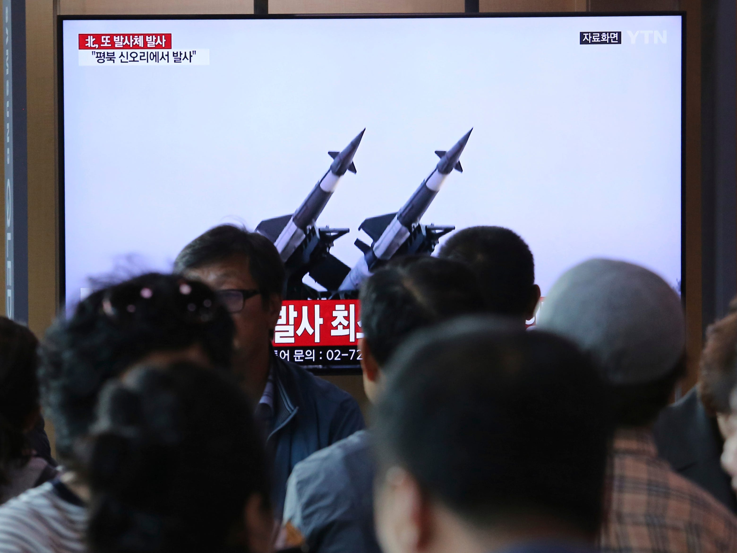 North Korea launches second projectile in less than a week