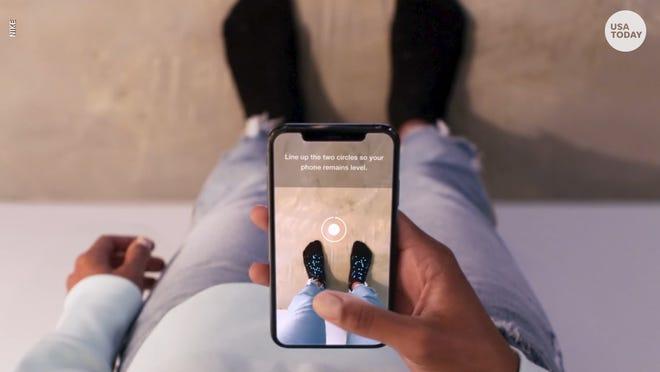 Nike Fit Digital Foot Measurement Tool Nike News