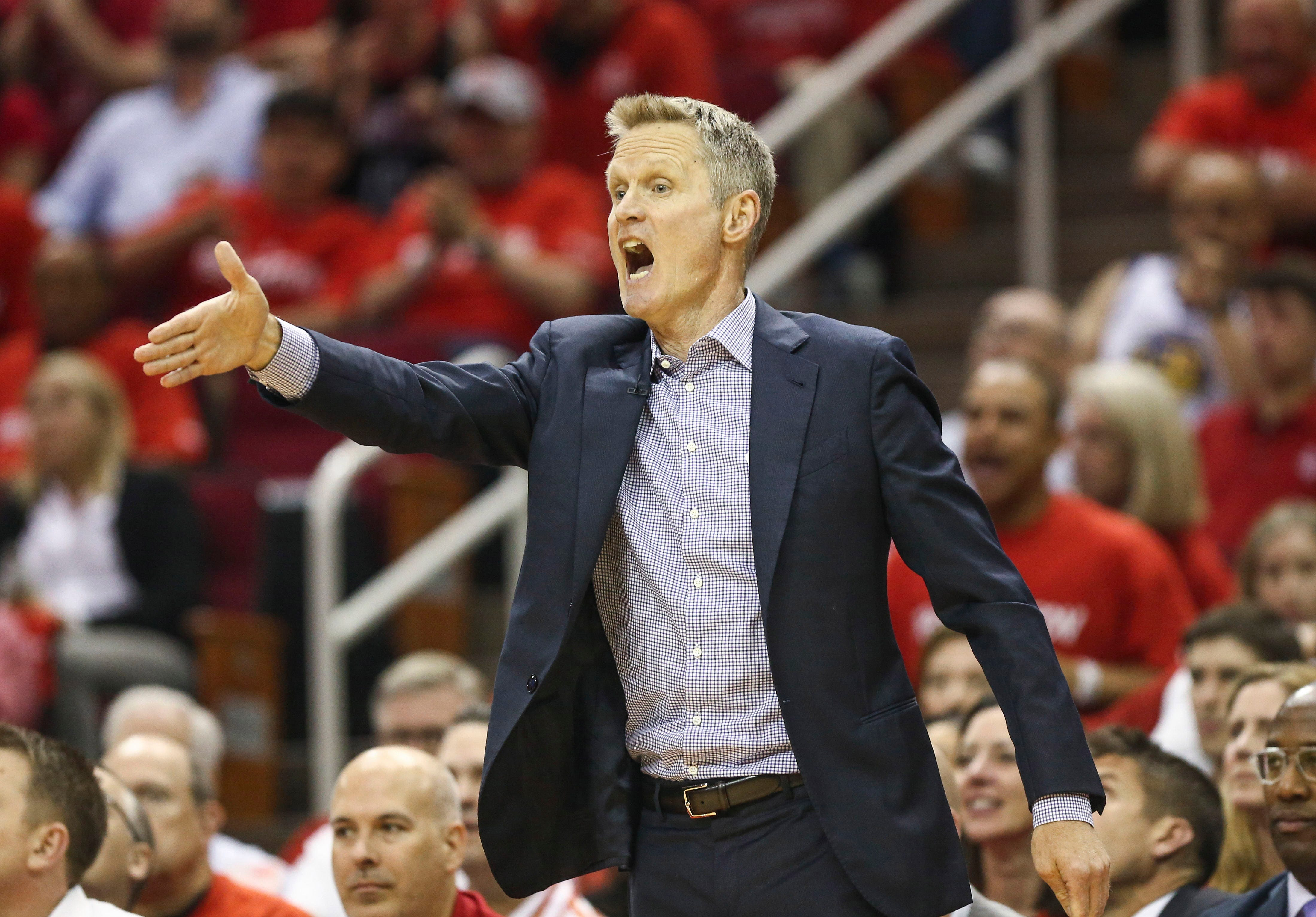 Warriors coach Steve Kerr after inspired win: 'Our guys are (expletive) giants'
