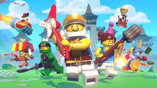 Apple Arcade, a subscription-based service launching this fall, will offer more than 100 premium games, for a relatively low price. Among them: 'Lego Brawls,' shown here.