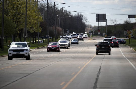 The section of South Green Bay Road between Cecil Street and Fox Point Square would be reconstructed in 2020 under Mayor Dean Kaufert's plan.