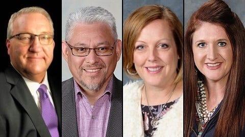 Gail Gregg, Gustavo Villanueva, Alison Sims and Stevanie Jackson.