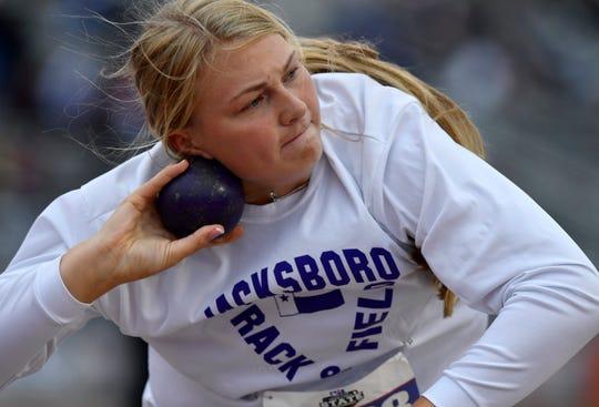 Jacksboro's Baylee Thompson was the area's top girls athlete for the 2018-19 season.