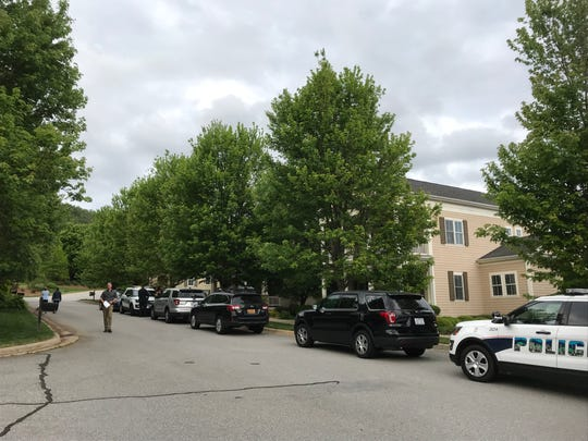 An Asheville police presence related to a kidnapping along Dearborn Street in Biltmore Park.