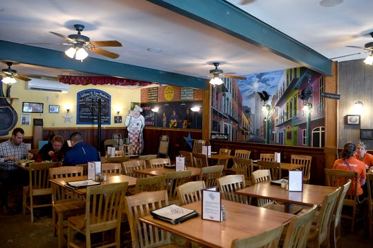 Blue Mountain Pizza and Brew Pub in Weaverville offers pizza with homemade dough and their own small-batch craft beer along with other menu options.