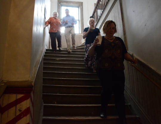 Money will help pay for restoration of the stairs to the third floor.