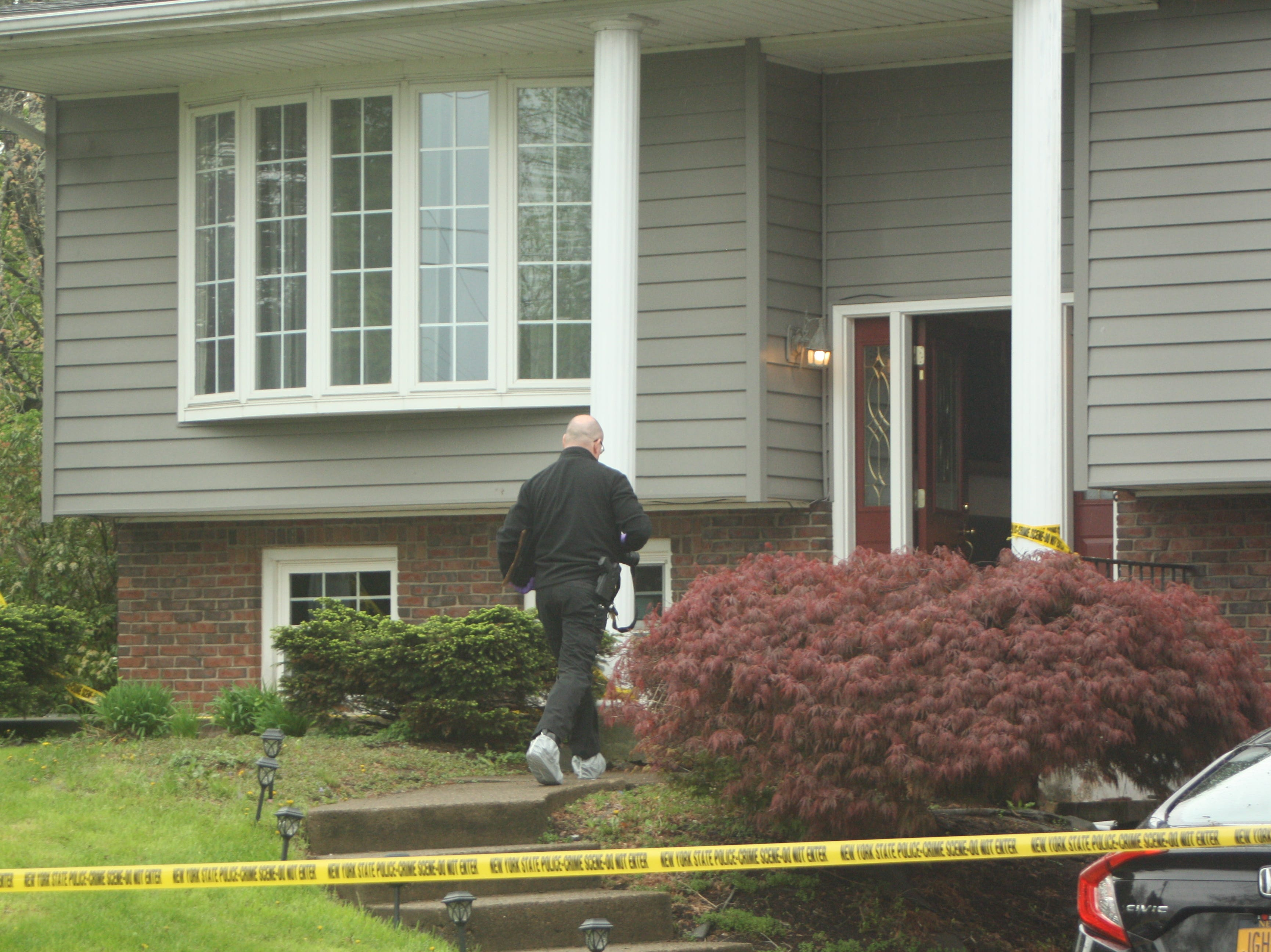 New York State Police continued to investigate on May 10, 2019 after a fatal home invasion in Apalachin.