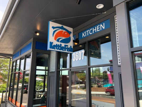 Kettlefish, a new fast-casual seafood restaurant, opened last week in Silverdale.