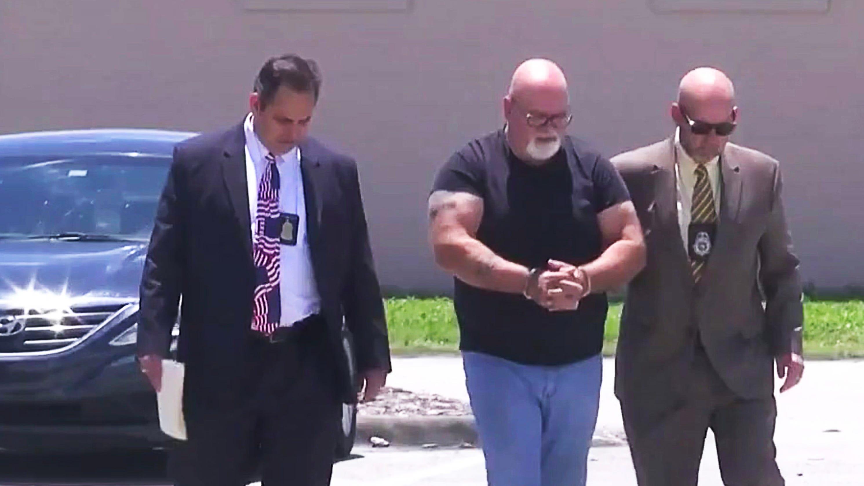 Dave Isnardi former Palm Bay deputy manager arrested