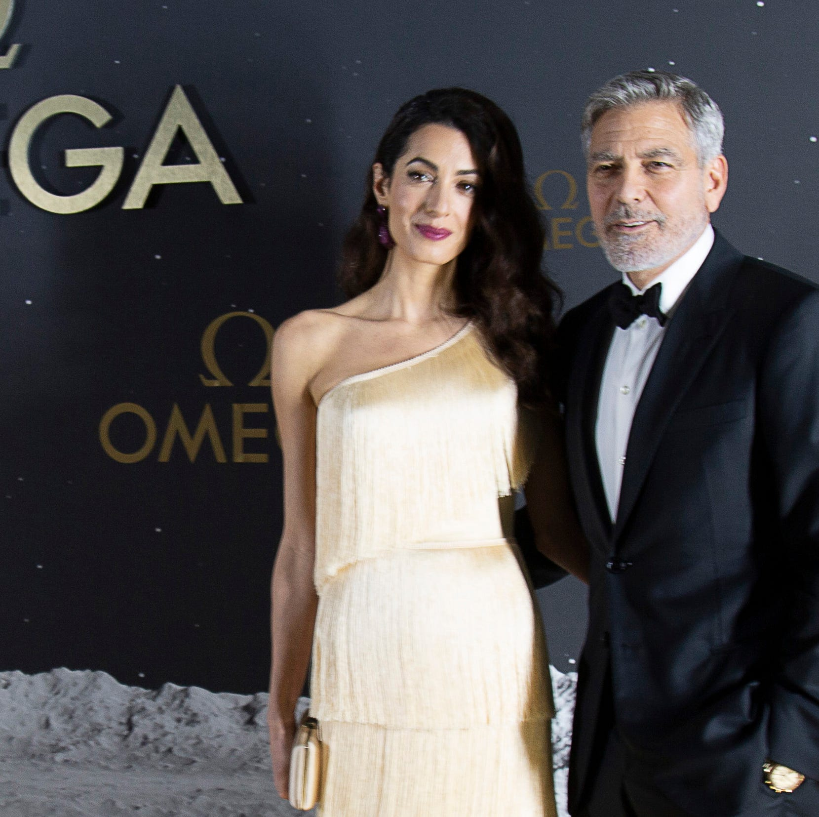 George Clooney, astronauts at Kennedy Space Center to celebrate 50th anniversary of Apollo 11
