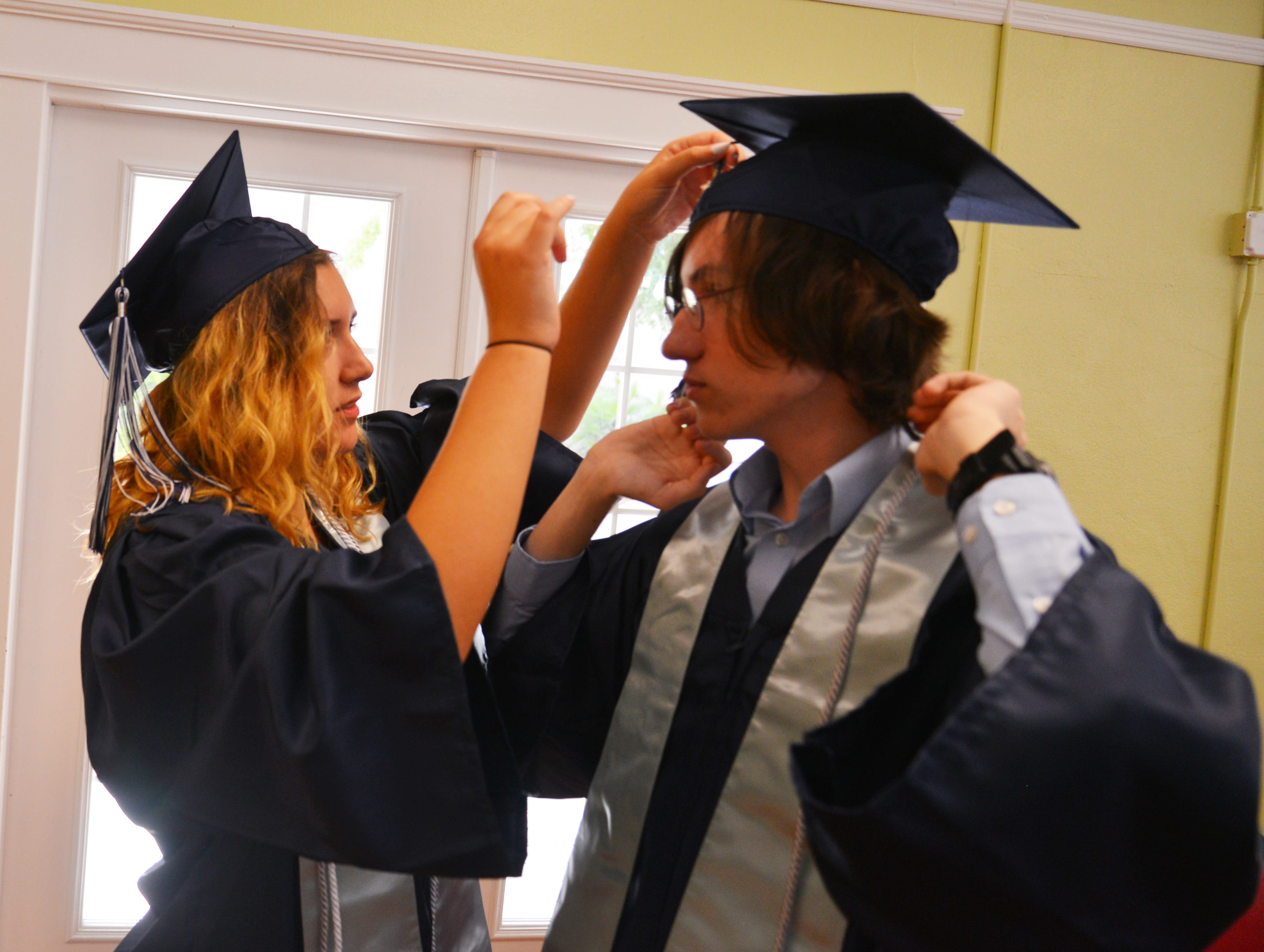 Florida Preparatory Academy held held their graduation ceremony Friday morning at the Henegar Center in Downtown Melbourne.