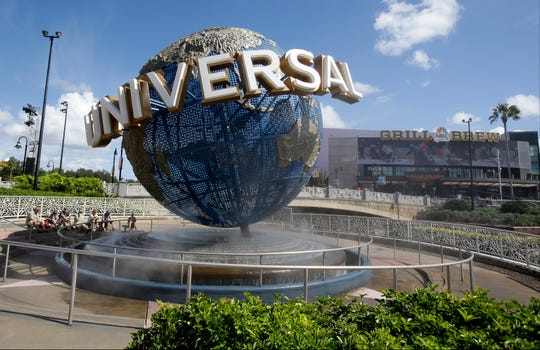 Universal Studios City Walk in Orlando.