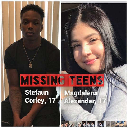 Stefaun Corley, 17, and Magdalena Alexander, 17, were last seen on May 6. They're believed to be en route to North Carolina, police say. Authorities need your help finding them.
