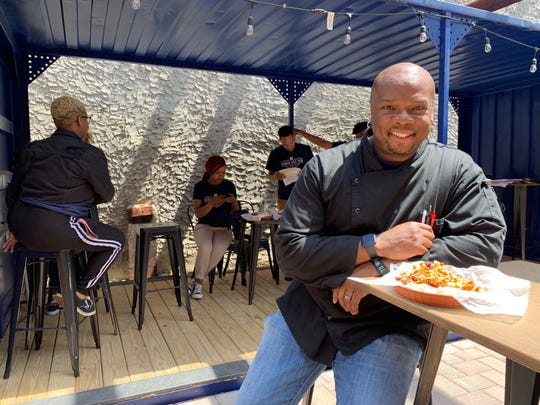 Chef Aaron McCargo, who won Season 4 of 'Next Food Network Star' and starred in 'Big Daddy's House,' brings his culinary vision to Camden Arts Yard.