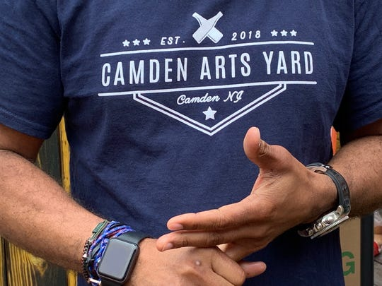 Camden Arts Yard is open for business on Market Street in Camden. The seasonal beer garden is the vision of developer Damon Pennington of Voorhees.